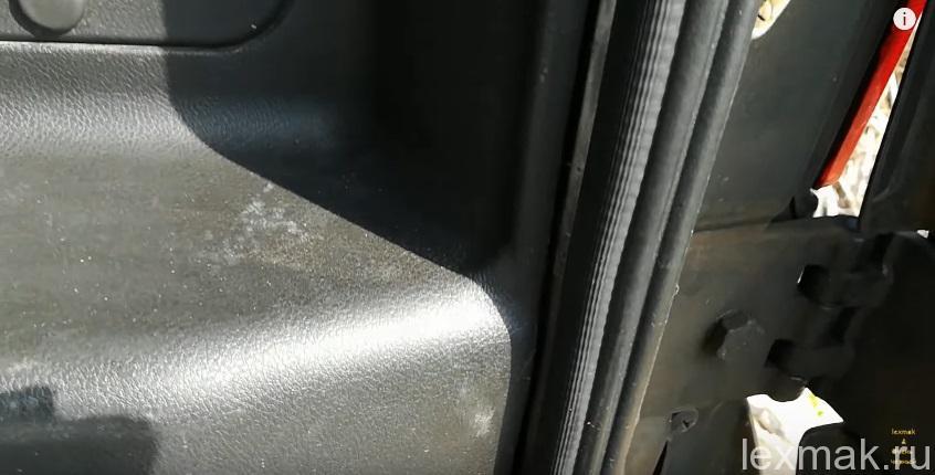 Уплотнитель ВАЗ 2108 на УАЗ