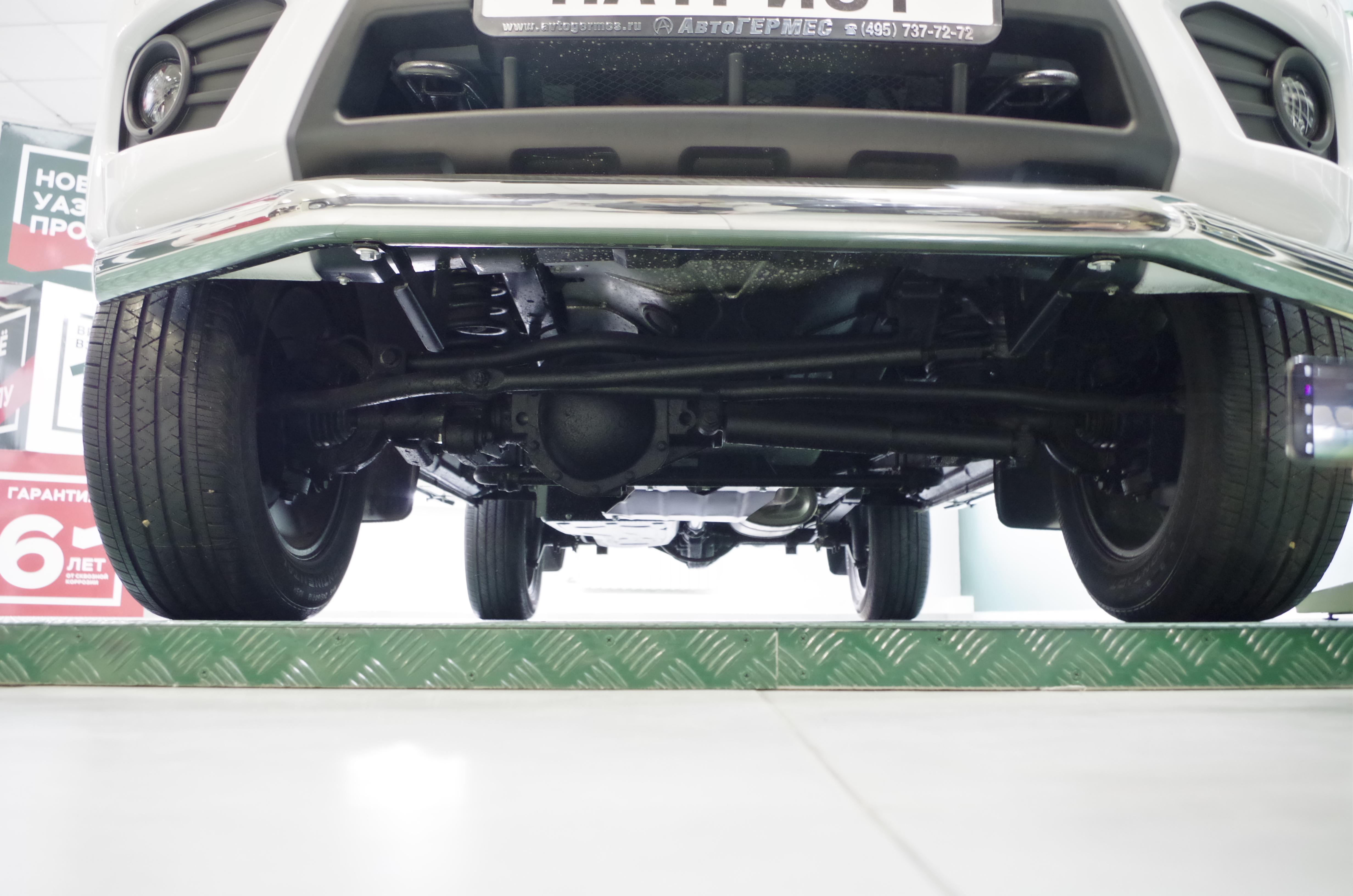 Новая подвеска УАЗ Патриот